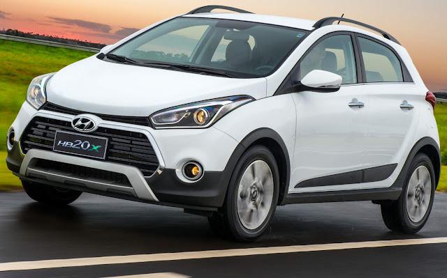 Novo Hyundai HB20X 2017 pode passar de R$ 70 mil