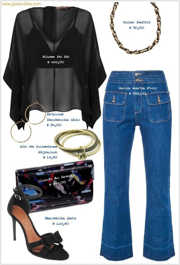 Como usar calça jeans à noite na balada, num encontro...