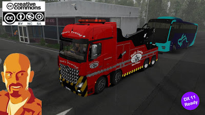Fixed MB Actros MPIV Crane Truck 1.35.x DX11