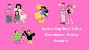 Aplikasi Siap Kerja QuBisa Bikin Milenial Mantap Berkarier