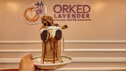 Lepak Santai di Orked Lavender Kafe