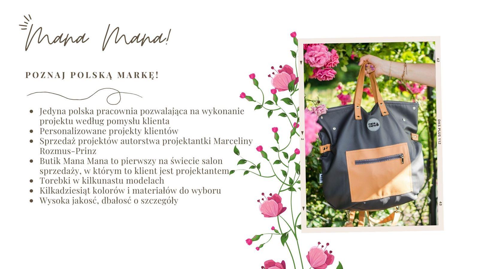3 Jak zaprojektować własną torebkę. Szycie torebek według swojego projektu. Prezent marzeń - pomysł na niebanalny prezent dla blogerki, dziewczyny, mamy, siostry, koleżanki, przyjaciółki. Torebki polska marka MANA MANA jakośc opinie, gdzie kupić, ile kosztuje