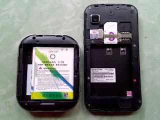 membuat fake dummy baterai Smartfren M3Z mifi