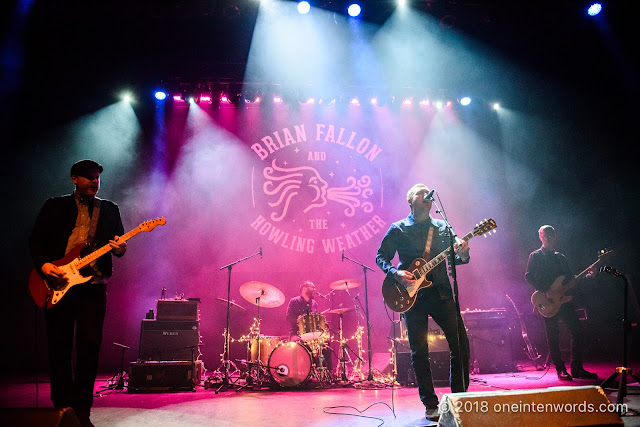 Brian Fallon and The Howling Weather at The Danforth Music Hall on April 24, 2018 Photo by John Ordean at One In Ten Words oneintenwords.com toronto indie alternative live music blog concert photography pictures photos