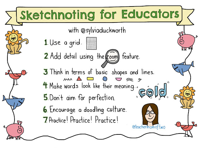 Sketchnoting for Educators with Sylvia Duckworth