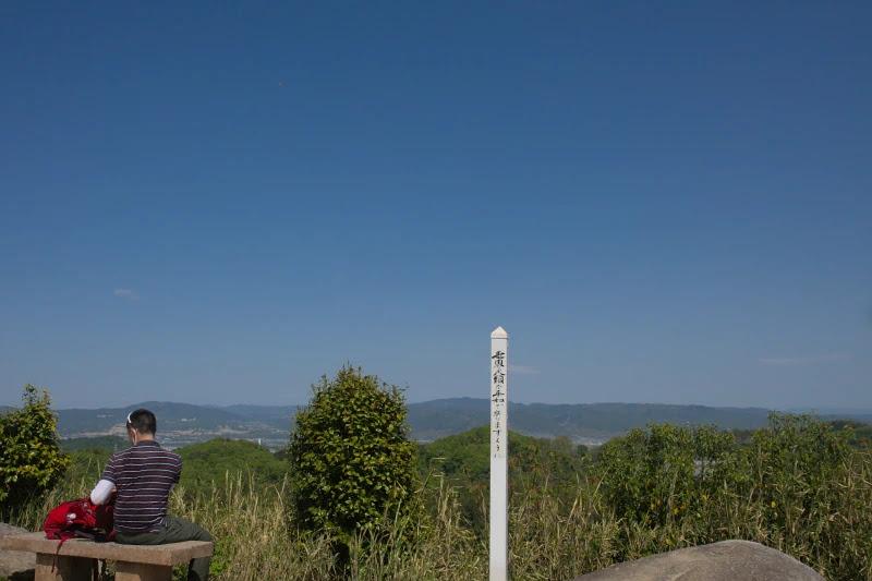 東(奈良)側の眺め