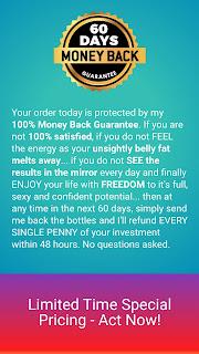 Weight-loss-fat-burner, money-back