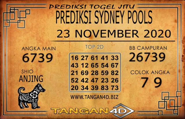 PREDIKSI TOGEL SYDNEY TANGAN4D 23 NOVEMBER 2020