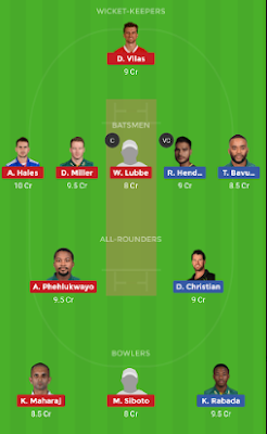 DUR vs JOZ dream 11 team | JOZ vs DUR