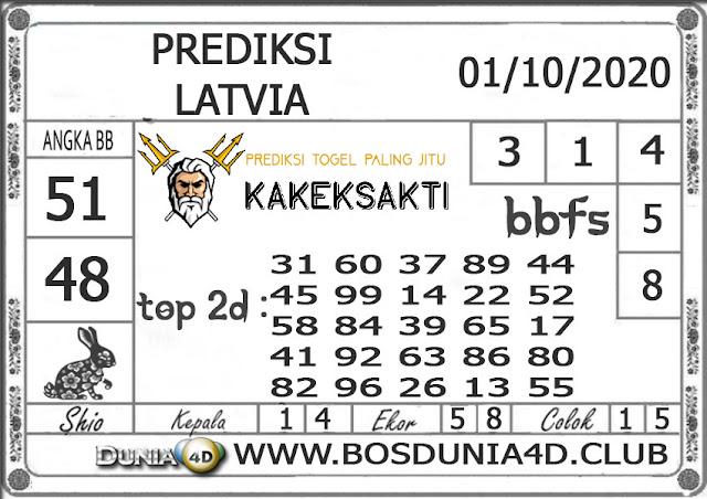 Prediksi Togel LATVIA DUNIA4D 01 OKTOBER 2020