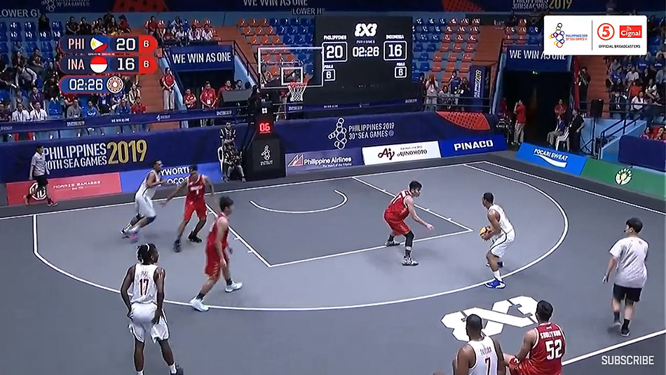 Gilas Pilipinas def. Indonesia, 21-17 (VIDEO) Men's 3x3 | SEA Games 2019