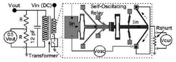DC-to-DC Boost Converter using Micromachine