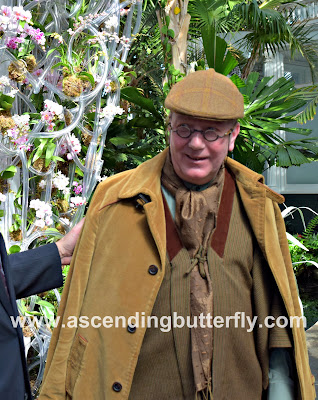 Daniel Ost Floral Artist New York Botanical Garden Orchid Show 2018 #OrchidNYBG
