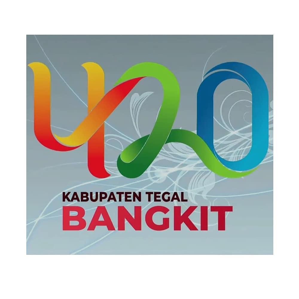Logo Hari Jadi Kabupaten Tegal 2021 ke-420 Tahun