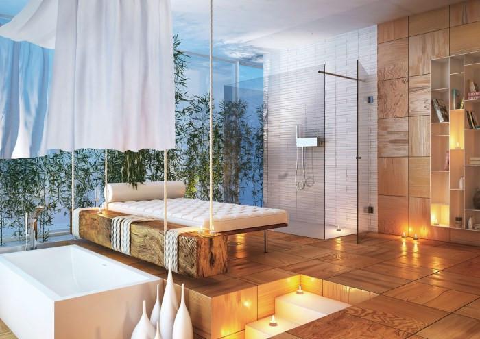 Salle de Bain Moderne Par MOMA Design
