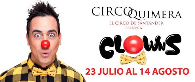 """CIRCO QUIMERA """"CLOWNS"""" de Ra�l Alegr�a"""