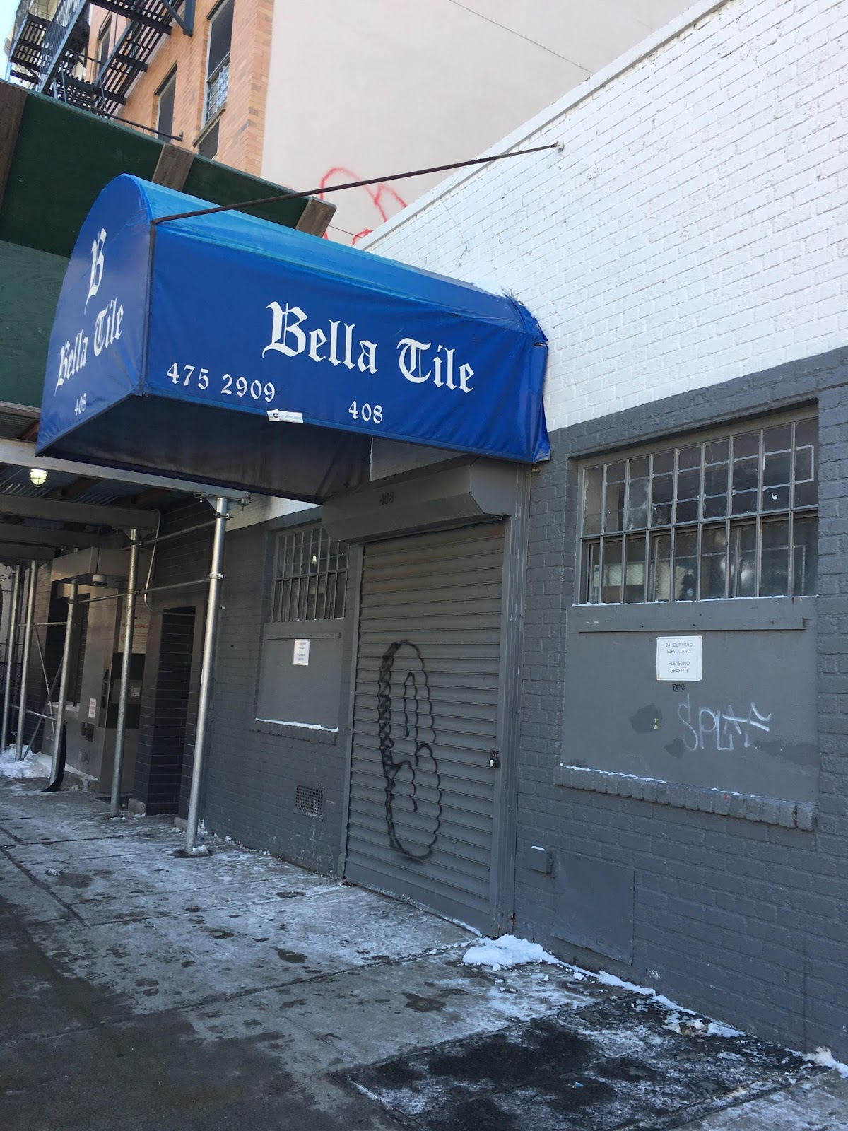 EV Grieve: Bella Tile showroom closes on 1st Avenue