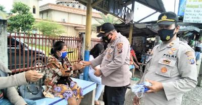 Langgar Prokes, Ops Yustisi Polres Batu Bara Tindak 305 Orang dan 15 Pelaku Usaha