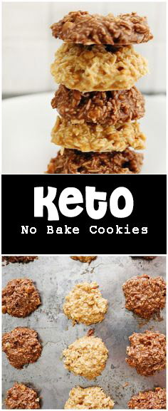 Delicious Keto No Bake Cookies