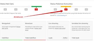 Monetisasi Youtube Akun Sedang Ditinjau Saat Ada 2 Pelanggaran Pedoman Komunitas