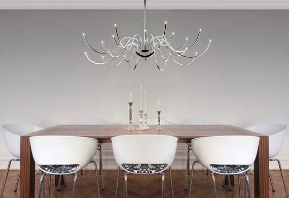 How to Choose a Chandelier for Your Dining Room picture