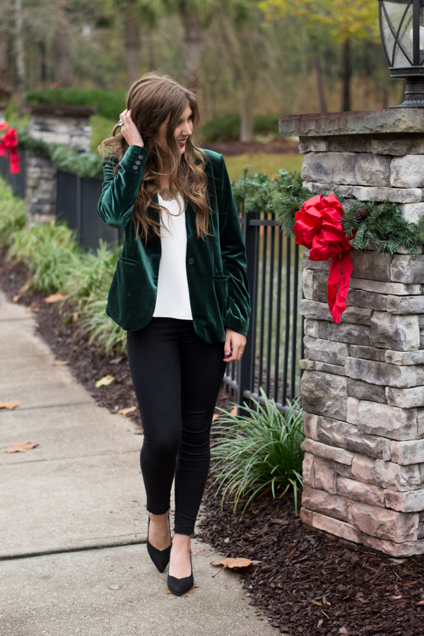 Christmas Party Outfit Idea | Chasing Cinderella