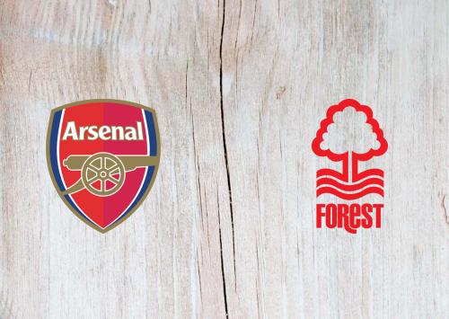 Arsenal vs Nottingham Forest -Highlights 24 September 2019