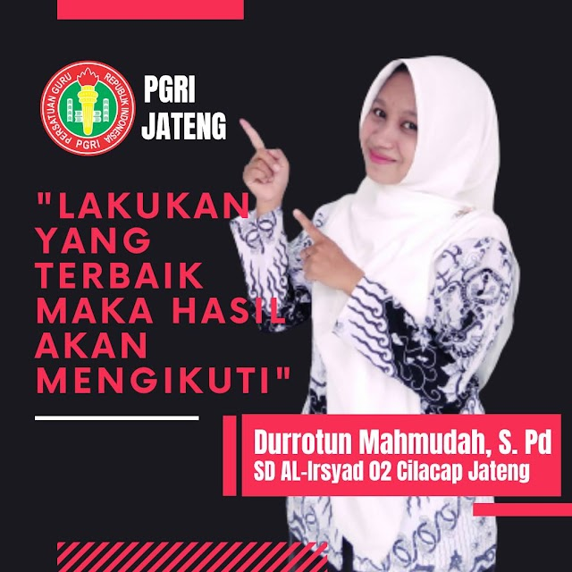 Kata Durrotun Mahmudah, S. Pd : Medali Emas ini Untuk Jateng, Untuk Menambah Relasi dan Memberi Kebanggaan Pada Sekolah