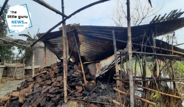 Fire in patahi