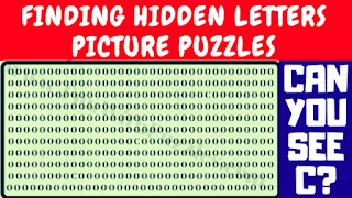 Can you find 'C' in this picture puzzle?