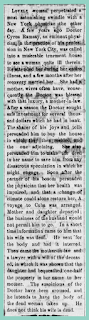Kristin Holt | the Victorian-American Mother-in-law. The Vicksburg Herald of Vicksburg, Mississippin on January 4, 1870. Original newspaper scanned image is difficult to read, so full transcription is provided in text.