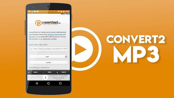 Convert2MP3 La mejor Aplicacion Para Descargar Videos y Musica de Youtube