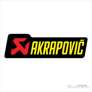 Akrapovič Logo vector (.cdr) Free Download