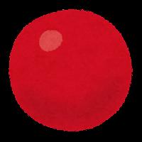 球形の赤血球のイラスト