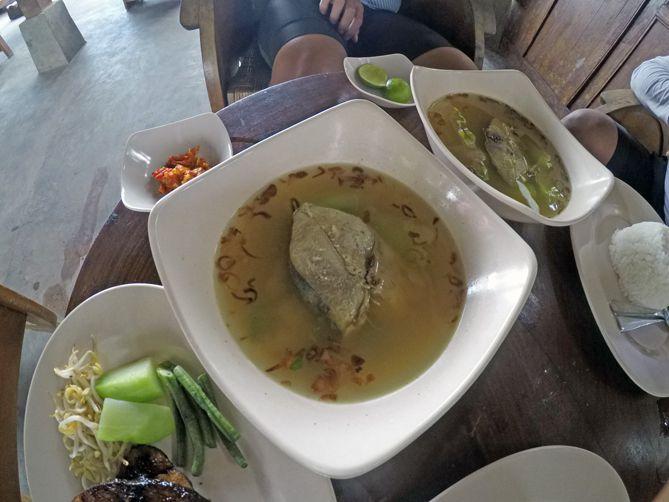 Berakhir di Sup Tuna Mas An Berbah