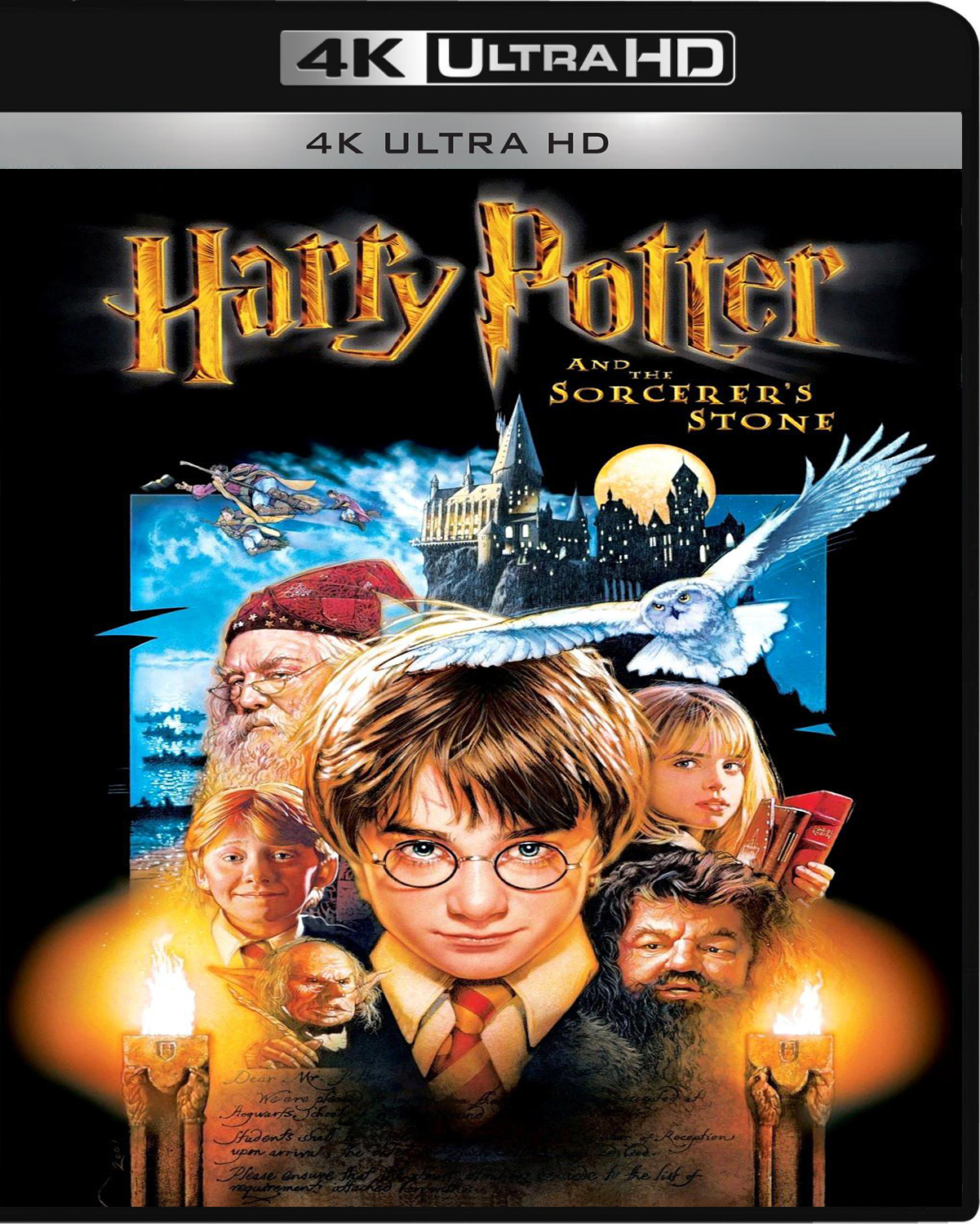Harry Potter and the Sorcerer's Stone [2001] [UHD] [2160p] [Latino – Castellano]