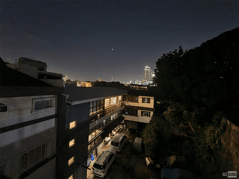 Night mode ultra-wide camera