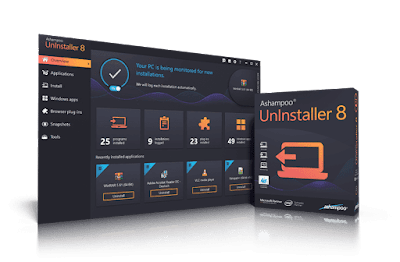 Ashampoo Uninstaller 8 Full Version license key, serial number, activation key, lizenzschlüssel