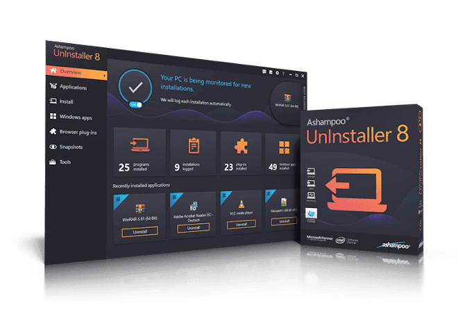 Ashampoo Uninstaller 8 Full Version