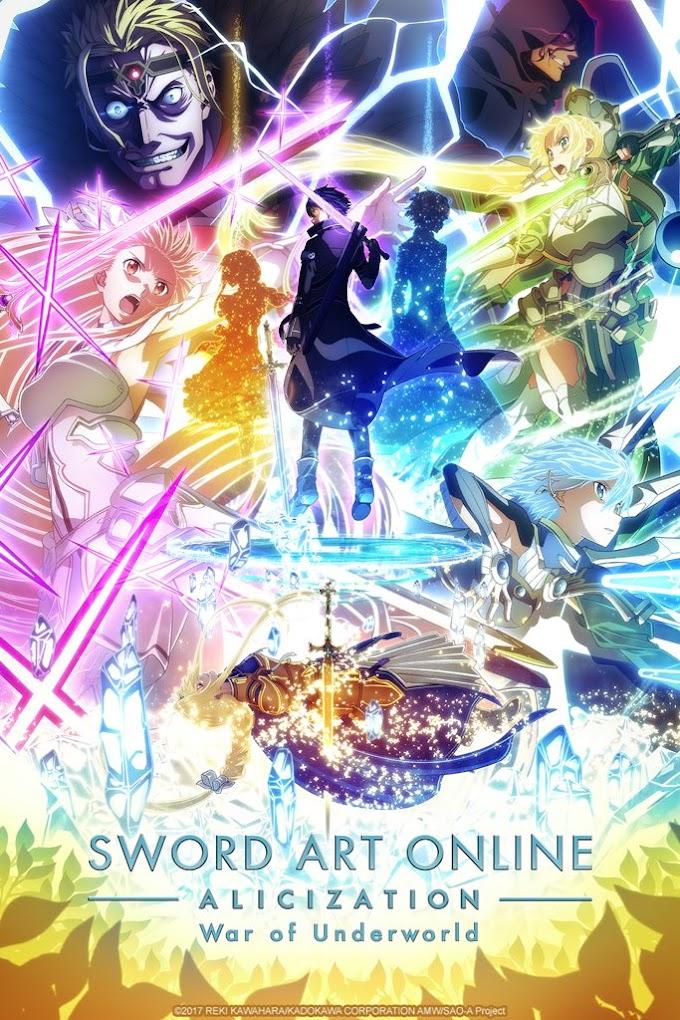 Sword Art Online season 3 all episode[1-24] download English subbed
