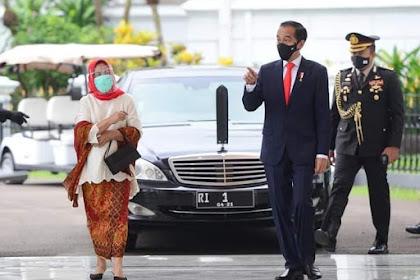 Presiden Joko Widodo Sambut PM Jepang Yoshihide Suga di Istana Bogor