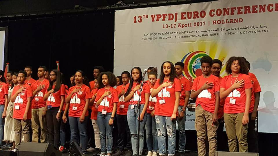 <YPFDJ Conference: Expression of Eritrean March to Greatness