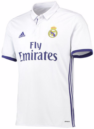 camiseta Real Madrid 2016 2017