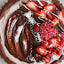 Gluten-free strawberry chocolate tart recipe