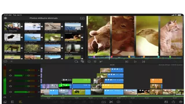 برنامج تصميم الفيديو - lumafusion