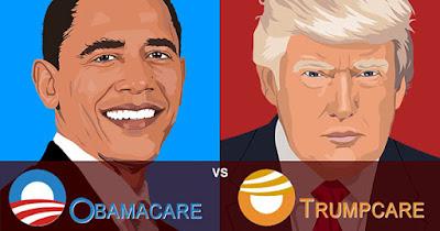 Obamacare Vs. Trumpcare
