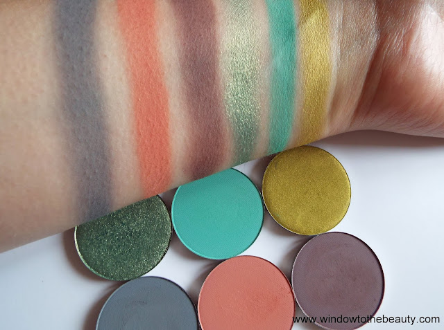 melkior single pans new shades swatches
