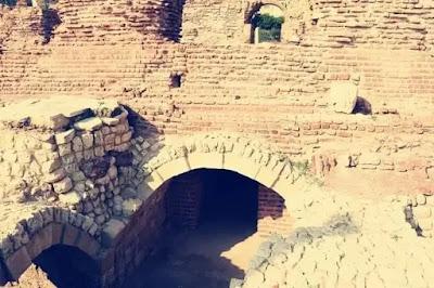The Roman Amphitheatre in Alexandria