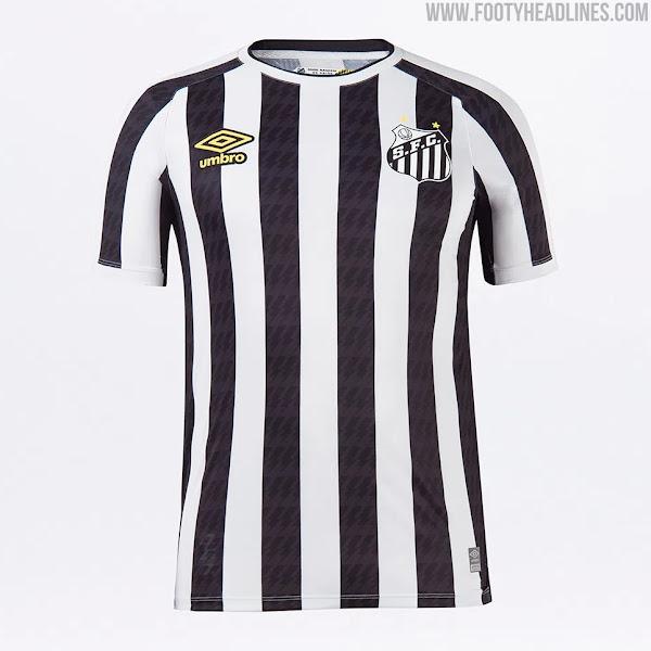 Santos 2021-22 Home, Away & Goalkeeper Kits Released - Footy Headlines