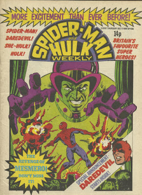 Spider-Man and Hulk Weekly #406, Mesmero